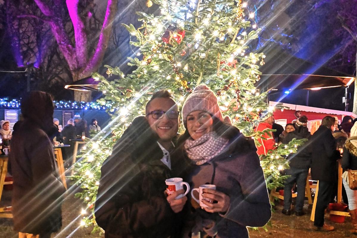 Weihnachtsmarkt im Türkenschanzpark